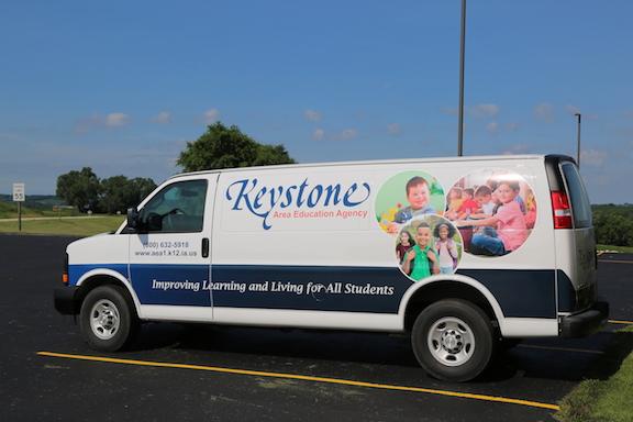 Keystone AEA Delivery van